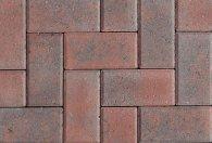 Hollandstone rusticred colour